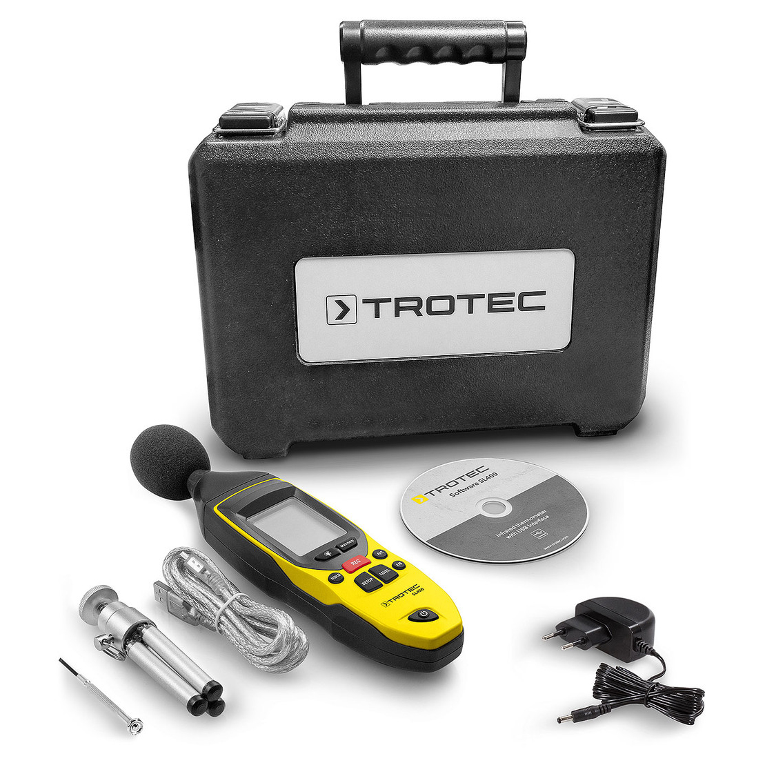 High Voltage Measuring Tool : Trotec sound level measuring device sl all measure